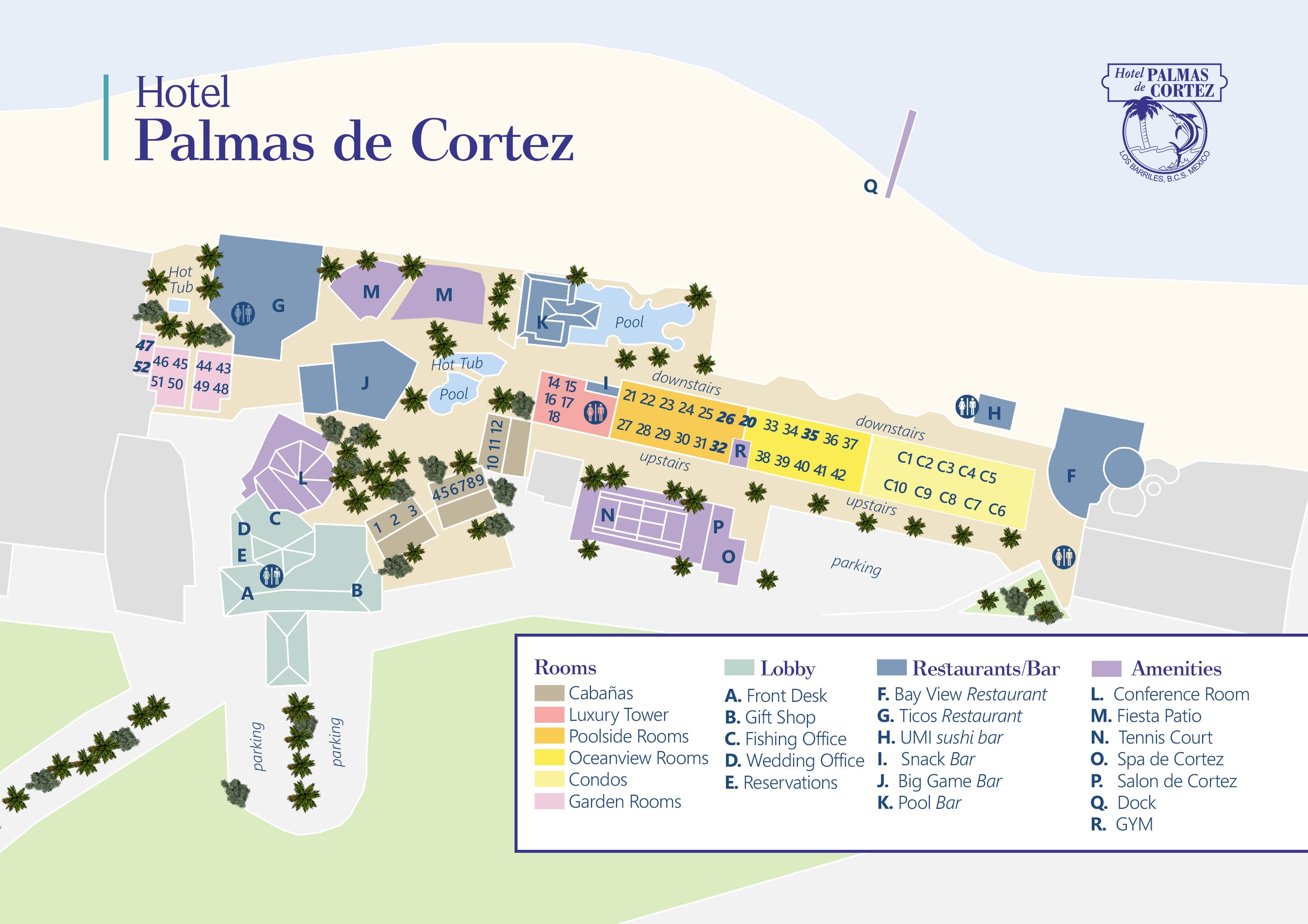 Palmas De Cortez Map